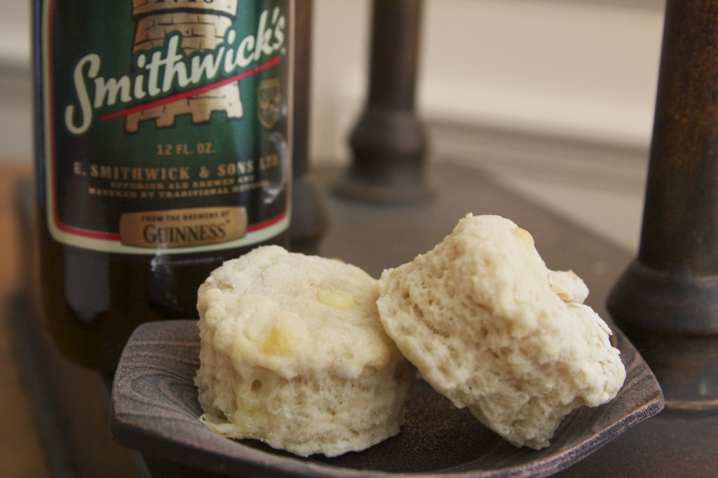 Beer and Cheddar Scones