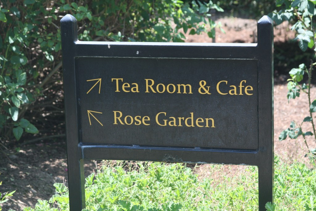 Follow the Signs to Afternoon Tea