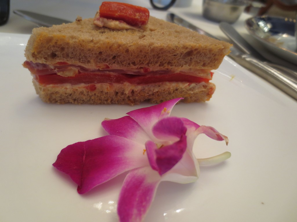 Proscuitto and Roasted Red Pepper