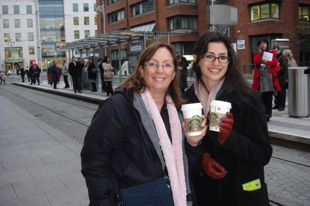 HAPPY MOTHER'S DAY! My mom and I in Dublin 2012