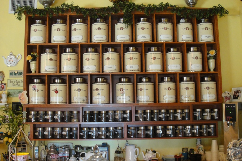 Wall of Tea