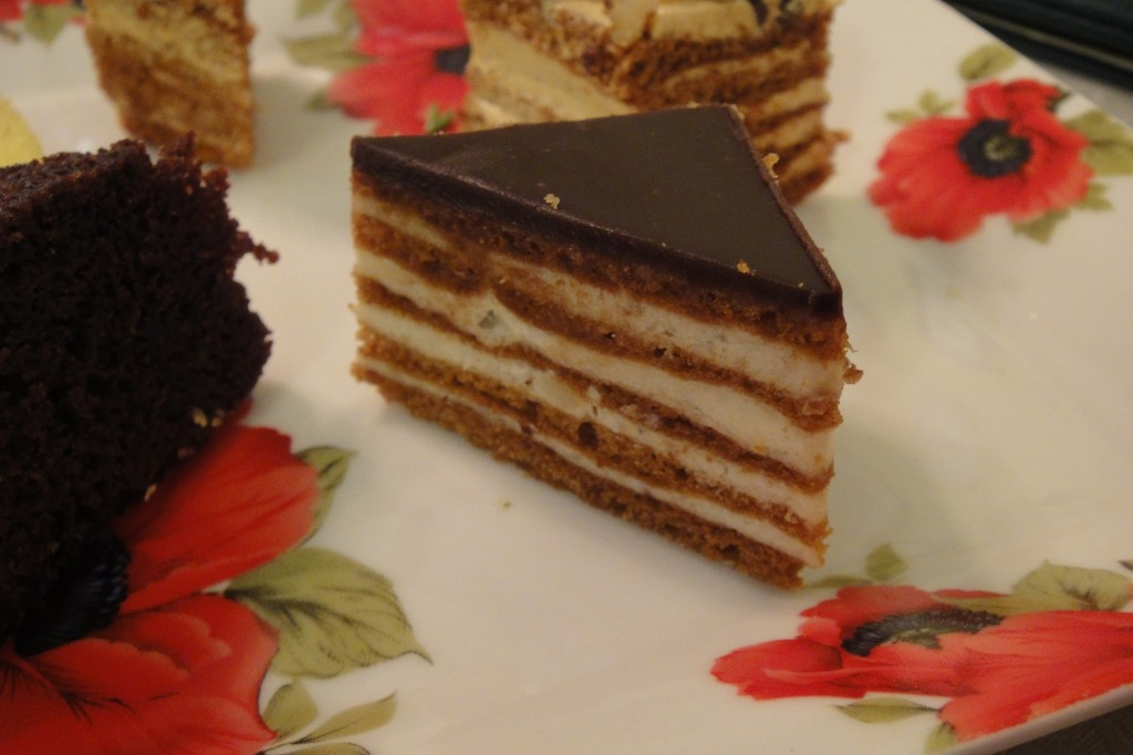 Bavarian Cream Cake