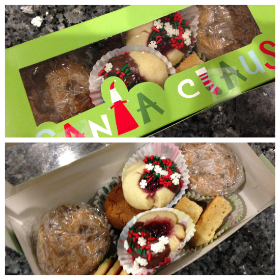 Example of Spontaneous Christmas Cookie Box