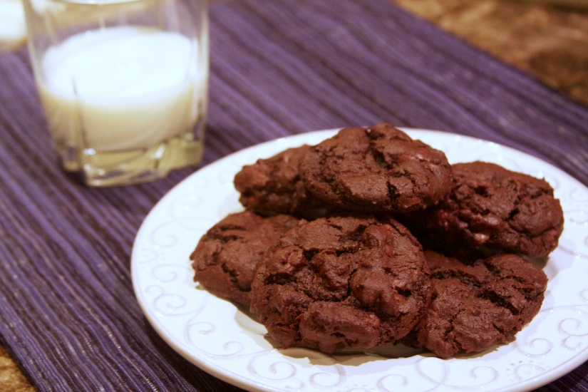 Chocolate Chocolate Morsel Cookies