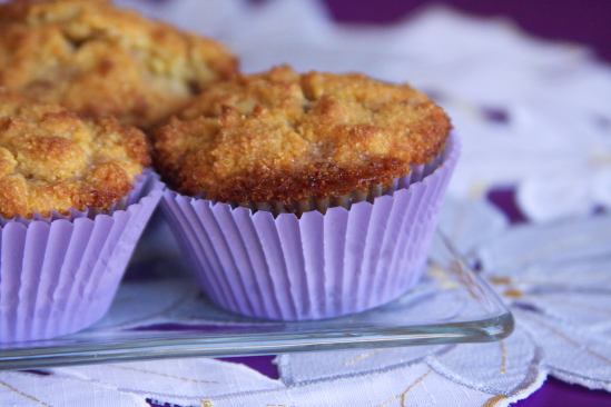 Breakfast Blueberry Cornbread Muffins