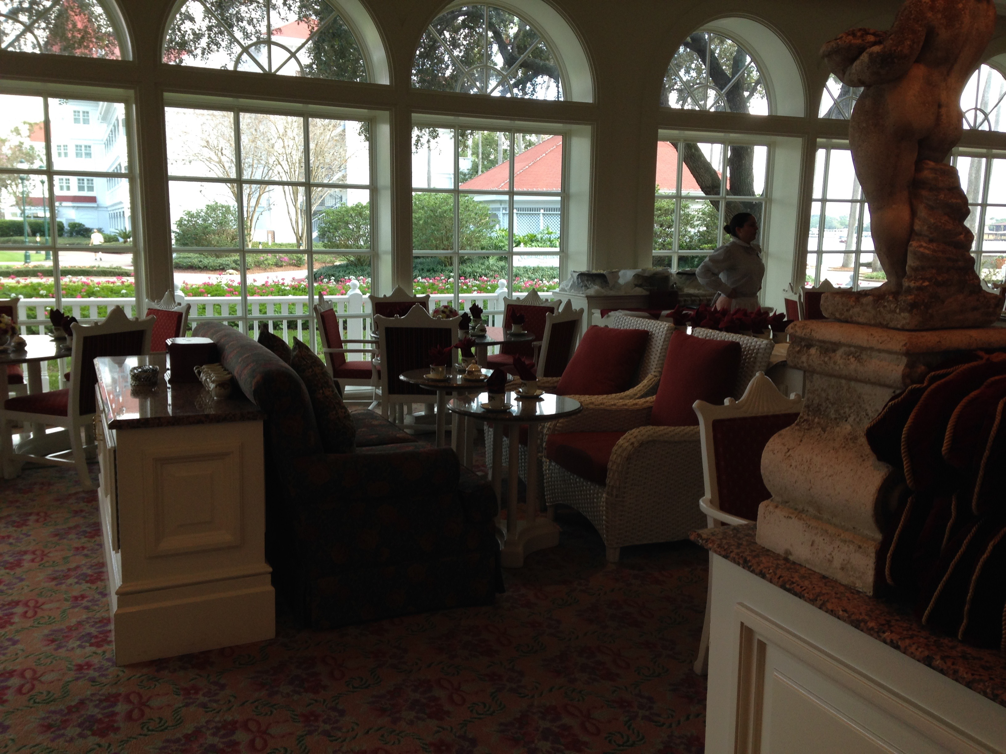 Review The Garden View Tea Room At The Grand Floridian Resort Walt Disney World Once Upon An