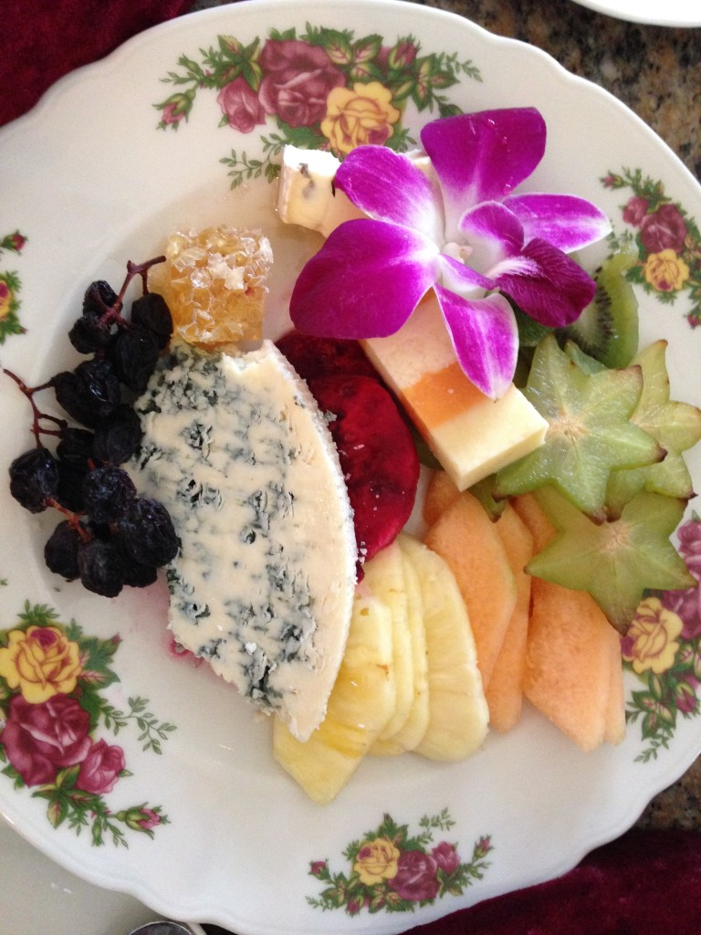 Exotic Fruits and Imported Cheeses